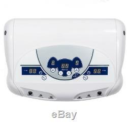 Dual Ion Detox Ionic Aqua Foot Bath Chi SPA Machine Array Health Care + 1 Basin