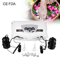 Dual Ion Detox Ionic Aqua Foot Bath Chi Spa Machine Array Health Care Us 110v