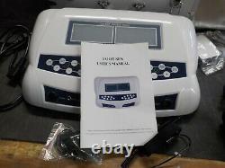 Dual Ionic Detox Foot Bath Machine Digital LCD Display Ionic Ion Spa Chi Cleanse