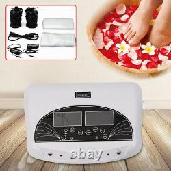 Dual Ionic Foot Detox Ion Bath Spa Cell Cleanse Therapy Bamboo Charcoal Clean