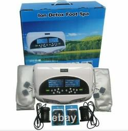 Dual Ionic Foot Detox Machine With Wristband, Ion Foot Spa, Foot Bath, Ion Cleanse