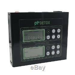 Dual Ionic Foot Detox Spa Bath LCD Machine & Fir Belts 5 Modes Ion Cleanse