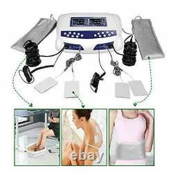 Dual User Foot Bath Spa Machine Coloed LCD Ionic Detox Cell Cleanse Optimum Kit