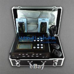 Dual User Foot Detox Bath Spa Aqua Ionic Cleanse Machine Body Health F Home USE