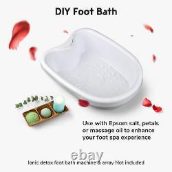 Dual User Ionic Detox Foot Bath Machine Tub Basin Kit with Arrays Massage Spa