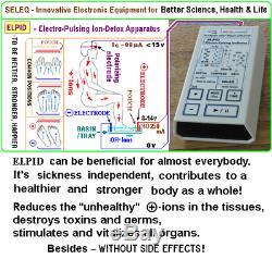 ELPID- Electro-Pulsing Ion Detox, Alternative healing, aqua spa, foot sitz bath