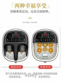 Electric Foot Bath Automatic Massage Constant Temperature Spa Accessories