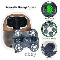 Electric Foot Spa Portable Bath Motorized Massager Feet Salon Tub with Shower