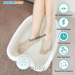Energizer Detox Foot Spa Machine Ionic Detox Foot Bath Chi Cleanse Wristbands