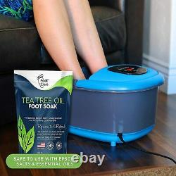 FOOT CURE Foot Spa Massager Basin Heated Electric Bath Tub Tired Feet Pain Home