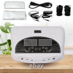 Foot Bath Dual User Spa Machine Ionic Detox Cell Cleanse Machine LCD Tool 5 Mode