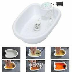 Foot Spa Bath Footbath Cleanse Machine Detox Ionic Ion Tub Pedicure Cleanser Set