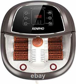 Foot Spa Bath Massager With Fast Heating Automatic Powerful Bubble Jets