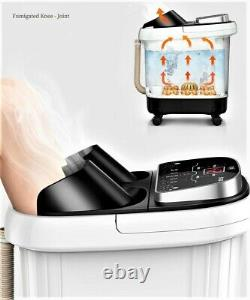 Foot Spa Bath Massager portable Automatic Heating Vibration Foot Bath Barrel