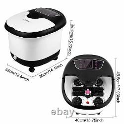 Foot Spa Bath Massager with Automatic Shiatsu Massaging Rollers and Maize Roller