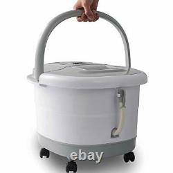 Foot Spa Bath Massager with Heat and Automatic Massage Foot Pedicure Spa Machine
