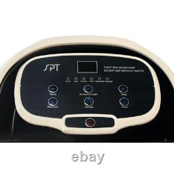 Foot Spa Bath Massager with Motorized Rollers Circulatory Heating Design 3.4 Gal