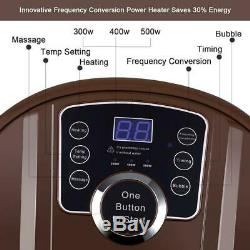 Foot Spa Bath Motorized Massager with Rolling Massage Adjustable Time Portable