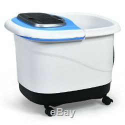 Foot Spa Bath Motorized Portable Massager Electric Feet Salon Tub with Shower NEW