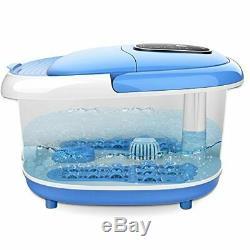 Foot Spa Massager Basin Feet Soaking Tub Foot Salt Scrub with Heat 11 Min