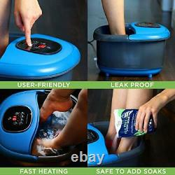 Foot Spa Massager Basin Heated Electric Foot Bath Tub with Automatic Massage