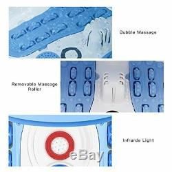 Foot Spa Massager Basin with Heat (NURSAL) Feet Soaking Tub Foot Salt Scrub