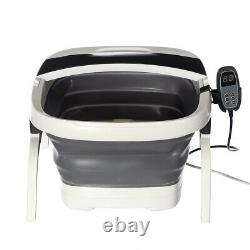 Foot Spa Massager Pedicure Footspa Vibrating Wet Bath Massage Soothing Uk Au1