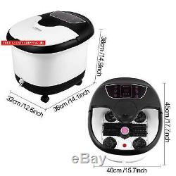 Foot Spa With Heat And Massage And Bubbles Jets, Feet Spa Bath Massager WithMotori