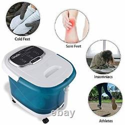 Foot Spa with Heat and Massage and Jets with Motorized Rollers, Foot Soak Tub