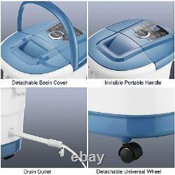 Fully automatic Foot Spa Bath Massager W Tai Chi Massage Rollers(Motorized)Timer