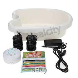 HEALCITY Ion Ionic Foot Detox Machine Foot Bath Spa Cell Cleanse with 10 Liners