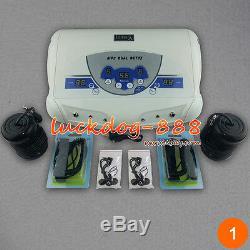 HOT Dual User LCD MP3 Ion Ionic Detox Ion Foot Baths Spa Aqua Cleans + 2 ARRAYS