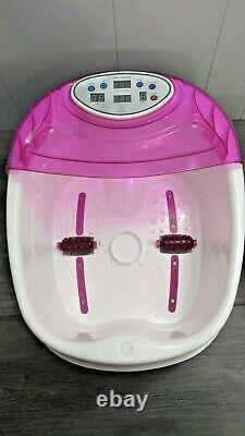 HealCity Ionic Detox Foot Bath SPA Machine Plus Panel Control, Massage Tub 2 Arr