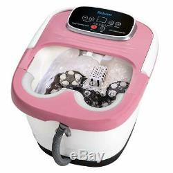 Heated Foot Spa Bath Tub Pedicure Jacuzzi Soaker Massager with Electric Hea