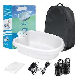 Home Ionic Detox Foot Basin Bath Spa Cleanse Machine Health Care Luxury kit Xmas