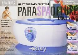 Homedics PARASPA Deluxe PAR-250 Paraffin Heat Therapy Wax Bath Spa