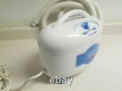 Homedics WITH HEAT Bubble Spa BMAT-1A Massaging Air Filled Bath Machine Tested