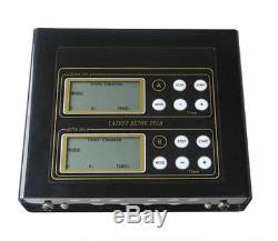 Hot Dual Ionic Foot Detox Spa Bath LCD Machine & Fir Belts 5 Modes Ion Cleanse