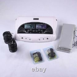 Hot Selling Dual User Fir Belt LCD Ionic Detox Ion Foot Bath Spa Cleanse Machine