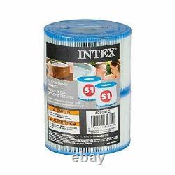 Intex Filter Cartridges Replacement Pool Spa Water Filters Hot Tub 12Filter 1Pak
