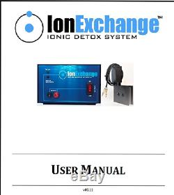IonExchange Ionic Foot Bath Foot Detox Spa Cleanse Machine FREE SHIPPING