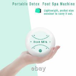 Ionic Detox Foot Bath Cleanse Spa Ion Detoxify Kit Machine with Tub, Array Home