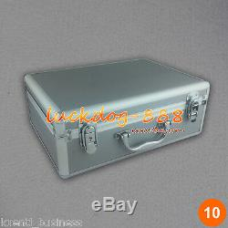 Ionic Detox Foot Bath Ion Cell Cleanse Spa Machine + Fir Belt + Case CE Approved