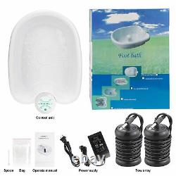 Ionic Foot Bath Detox Machine, Foot Bath Cleanse, Home Use Salon Beauty SPA Club