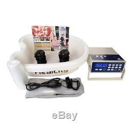 Ionic Foot Detox Spa Machine Cell Cleanse System with Professional Tub Basin 10