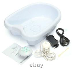 Ionic Ion Detox Foot Bath Spa Machine Single User With Tub Therapy Health New
