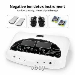 Ionic Ion Detox Foot Bath Spa Massager Machine Dual User Cell Cleanse Machine
