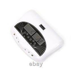 LCD Dual Ion Detox Ionic Foot Baths Spa Clean Machine Remove Toxin Infrared Belt