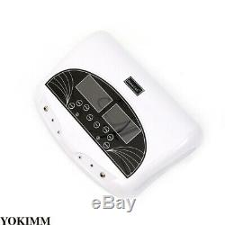 LCD Dual Ionic Cell Cleanse Detox Foot Bath Spa Machine withArrays Wrist 5 Modes
