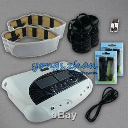 LCD Dual Users Foot Bath Machine Ionic Detox Foot Spa Cell Clense Arrays